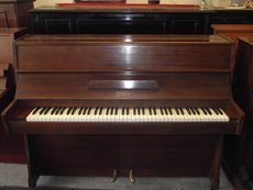 Brown church piano